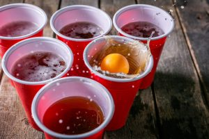 beerpong - why do college students drink?