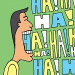Photo of man laughing