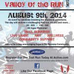 Flyer Valley of the RUN