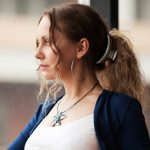 Woman challenging irrational beliefs
