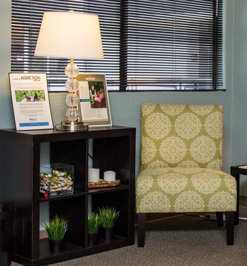 San Diego Intensive Outpatient Rehab (IOP) Waiting Room