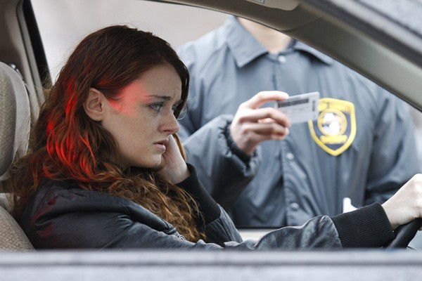 woman getting dui