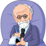 dr. freud in chair