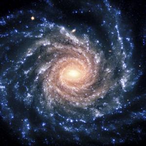 image of space symbolizing suicide