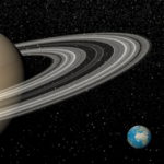 earth and saturn symbolizing awe, recovery and higher power