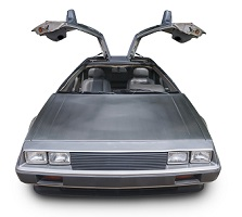 image of back to future car to represent prediction of future of drug rehab