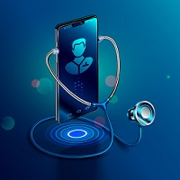 image of phone and stethoscope to symbolize online drug and alcohol assessments