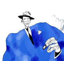 image of sinatra to symbolize recovery my way