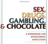 image of workbook: sex drugs gambling and chocolate
